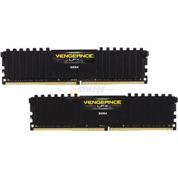 LPX Black 16GB (2 x 8GB) DDR4, 2400MHz, DIMM, Unbuffered