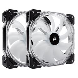High performance 140mm PWM RGB LED fan HD140 - Twin Pack