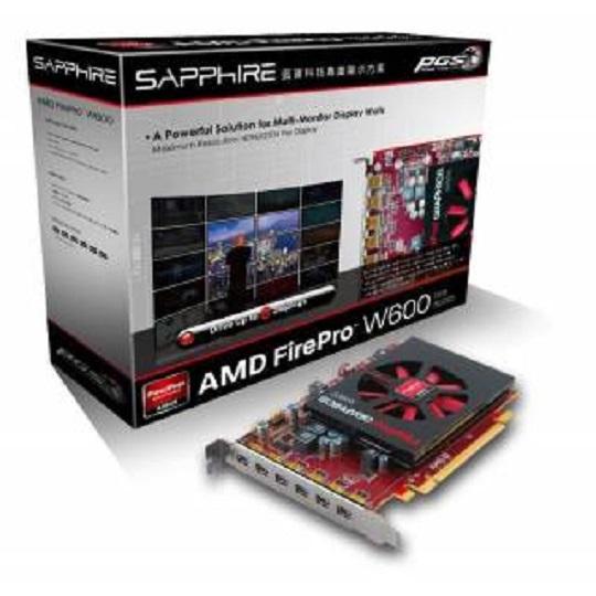 Miglior prezzo AMD 100-505746 SAPPHIRE FIREPRO W600 2GB GDDR5 6*