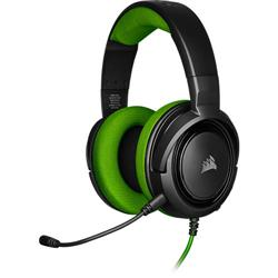 Gaming headset with HS35 microphone, Green
