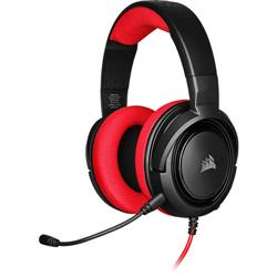 Gaming headset with HS35 microphone, Red