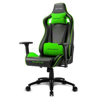 Elbrus 2 Gaming Chair Black/Green