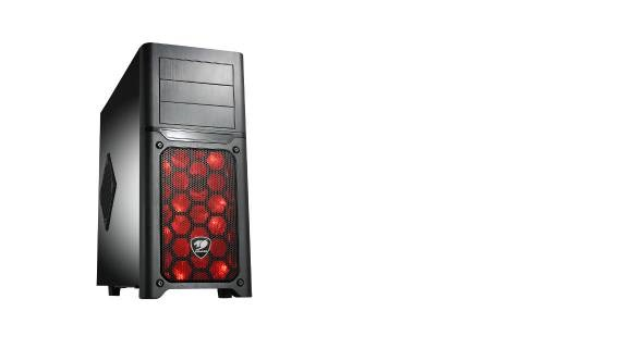MX500 Middle Torre nuovo per PC m-ATX/ATX Nero
