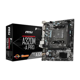 Motherboard with AMD A320 chipset A320M-A PRO