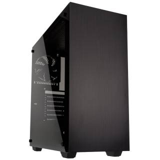 Stronghold Middle Tower Vetro Temperato No Power minITX/mATX/ATX