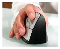 Mouse Ergonomic anti carpal USB black