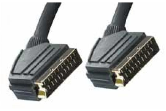 Scart Scart male cable male 2 mt