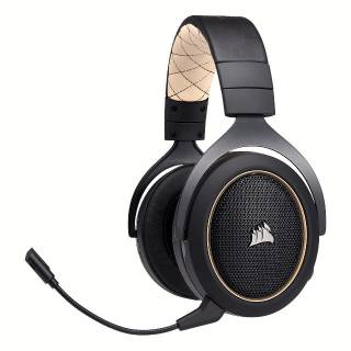 Corsair Renewed PC / PS4 Cream Wireless Microphone Headphones