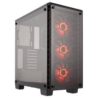 Miglior prezzo Crystal Serie 460X Mid-Tower Vetro Temperato No-Power minITX/ -
