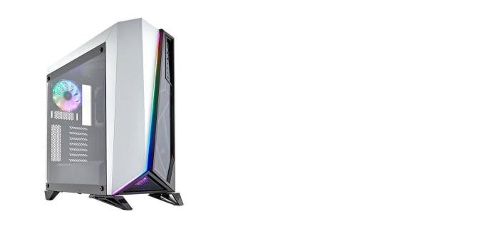Carbide Spec Omega RGB Middle Tower Tempered Glass No Power