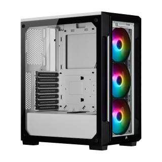 iCUE 220T RGB Middle Tower glass No-Power Mini ITX/mA