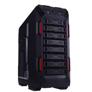 Miglior prezzo Full Tower Nero/Rosso No-Power m-ATX/ATX/e-ATX -