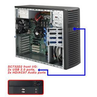 Miglior prezzo Middle Tower Nero 500W m-ATX/ATX/e-ATX -