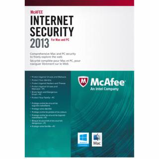 McAfee Internet Security 2013 3 user