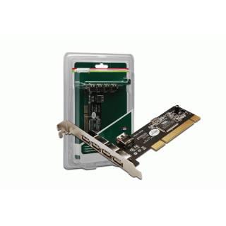 Miglior prezzo Scheda USB 2.0 3+1 LP nuovo -
