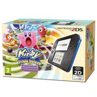 Miglior prezzo Nintendo 2DS Nero/Blu + Kirby Triple -