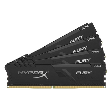 64GB 3466MHz DDR4 CL16 DIMM (Kit of 4) HyperX FURY Black