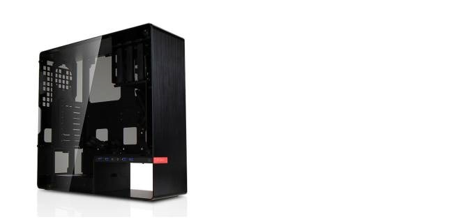 In Win IW-CF01 904 Middle Tower black No-Power m-ATX/ATX