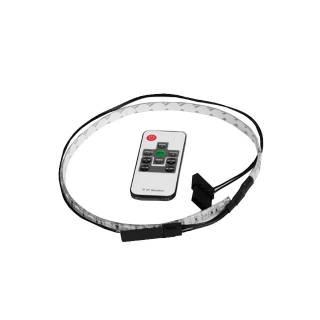 Miglior prezzo Striscia Flessibile con controller remoto LED RGB 50cm -