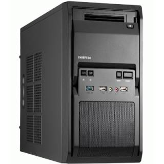 Chieftec LT-01B Middle Tower Nero No-Power mATX