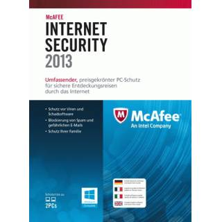 Internet Security 2013 DUAL MAC / Windows 1 users
