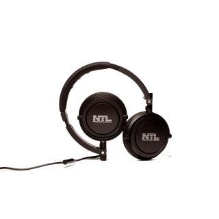 Miglior prezzo NTL MATT CUFFIE DJ PADIGLIONE RUOTABILE 40MM CON MICROFONO NERO