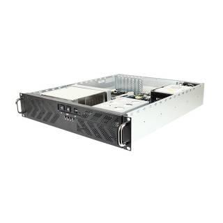 Miglior prezzo RMC-2T-0-2LP-R Rack 2U 1*5.25 Nero No-Power LowProfile SSI/ATX -