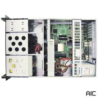 Miglior prezzo RMC-4F2-0-0 Rack 4U 10Bay 5.25 Nero No-Power EATX -