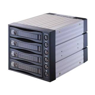 "ELS bay Interno 3*5.25"" per HDD 4*2.5""/3.5"" Sata/SAS - Nero"
