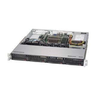 Miglior prezzo SYS-5019S-M Rack 1U Intel Xeon E3-1200v5 4*DDR4 4*SataIII 2*GLAN -