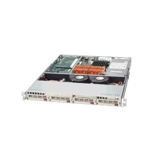 Miglior prezzo SYS-6014H-8 Rack 1U Dual Intel Xeon LGA604 4*SCA 2*GLan 500W Bia -