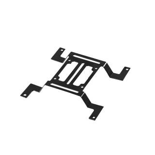 Bracket supporto pompa 140mm Nero