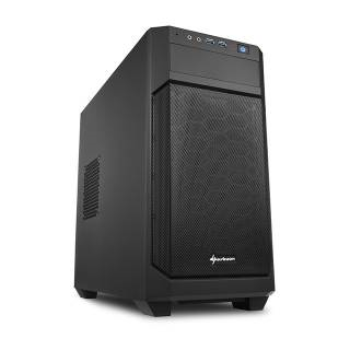 V1000 Mini Tower No-Power minITX/mATX Nero