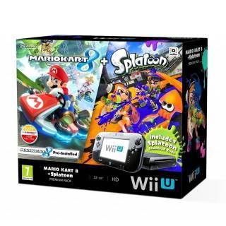 Miglior prezzo Nintendo Wii U Mario Kart 8 + Splatoon -