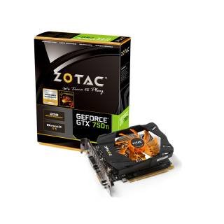Miglior prezzo ZOTAC NVIDIA GEFORCE GTX750 TI PREMIUM BOOST 2GB GDDR5 128BIT 2*
