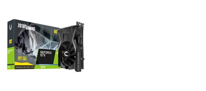 GTX 1650 OC 4GB GDDR5 DVI/HDMI/DP Scheda Video Gaming VR Ready